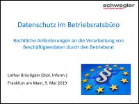 Download PDF Datenschutz beim Betriebsrat