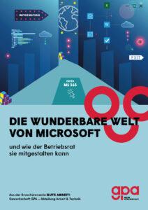 Broschüre zu Microsoft 365 (Gewerkschaft GPA)